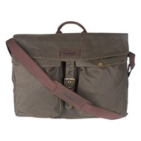Barbour Retriever Messenger Bag Brown