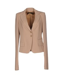 Patrizia Pepe Sera Suits And Jackets Blazers Women Khaki