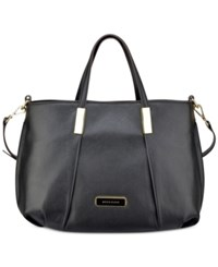 Anne Klein Style Achiever Ii Medium Satchel Black