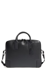 Men's Boss Leather Briefcase