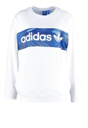Adidas Originals Blue Geology Sweatshirt White