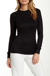 Joe's Jeans Lux Long Sleeve Shirt Black