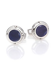 Dunhill Wireframe Sapphire Cuff Links
