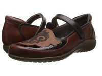 Naot Footwear Motu Luggage Brown Leather Cinnamon Leather Women's Flat Shoes