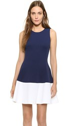 Lisa Perry Wow Dress Navy White