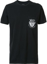 Local Authority Ny Apple Pocket T Shirt Black