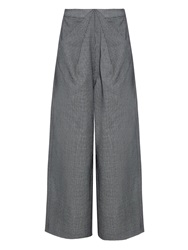 Rosie Assoulin Ziggy Hound's Tooth Wool Blend Trousers