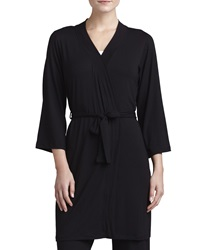 Cosabella Talco Anouk Short Robe Black Small