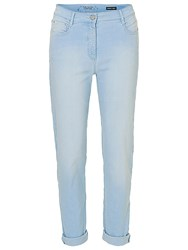 Betty Barclay Perfect Body 5 Pocket Jeans Blue Bleached Denim