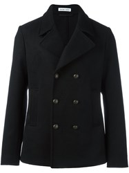 Tomas Maier Short Peacoat Black