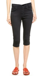James Jeans Sophia High Rise Knee Crop Jeans Summer Noir