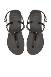 Havaianas Freedom Candy Flip Flop Black