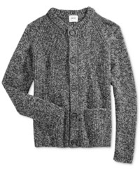 Wesc Men's Arne Cardigan Grey Melanger