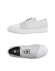 Bb Washed By Bruno Bordese Footwear Lace Up Shoes Women White