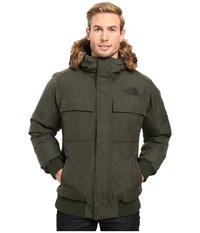 The North Face Gotham Jacket Ii Climbing Ivy Green Heather Men's Coat Black
