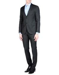 Tombolini Suits And Jackets Suits Men Steel Grey