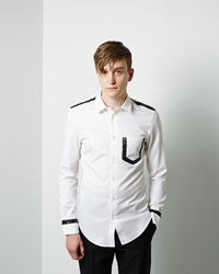 Maison Martin Margiela Line 10 Painted Basic Shirt White