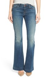 J Brand 'Another Love Short Story' Flare Jeans Ingenue Blue