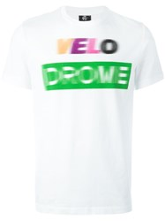 Paul Smith Ps By 'Velodrome' T Shirt White