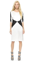 Zero Maria Cornejo Doppio Rio Dress White Black