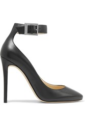 Jimmy Choo Helena Leather Pumps Black