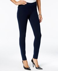 Guess Dark Blue Wash Pull On Jeggings Dark Kata