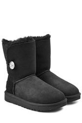 Ugg Australia Bailey Bling Boots With Swarovski Crystal Black