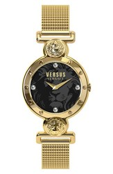 Versus By Versace Women's 'Sunnyridge' Mesh Strap Watch 34Mm
