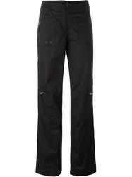 Armani Jeans Relaxed Fit Trousers Black