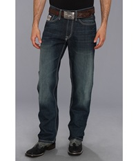 Cinch White Label Limited Edition Dark Stonewash Men's Jeans Blue