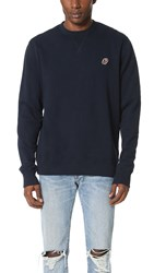 Penfield Embroidered Patch Sweatshirt Navy