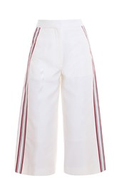 Hillier Bartley Side Stripe Culottes White