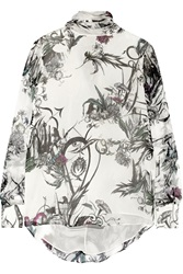 Matthew Williamson Printed Silk Chiffon Blouse