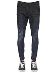 Dsquared2 16Cm Sexy Twist Baffo Stretch Jeans