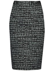 French Connection Canyon Sands Pencil Skirt Tribal Teal