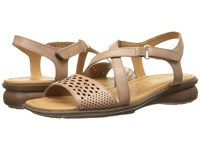 Naturalizer Janessa Ginger Snap Leather Women's Dress Sandals Pink