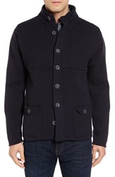 Inis Meain Men's Merino Wool Sweater Jacket