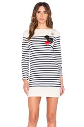 Marc By Marc Jacobs Breton Stripe Dress Cream