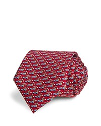 Tailorbyrd Golf Cart Classic Silk Tie Compare At 49.99 Red