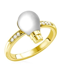 Theo Fennell Light Bulb Ring