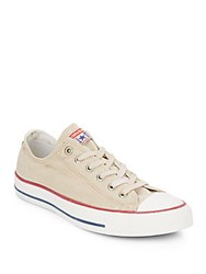 Converse Low Top Canvas Sneakers Turtledove