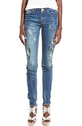One Teaspoon 'Loonies' Slim Jeans Blue Marine
