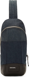 Diesel Blue Denim The Brave One Backpack