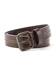 Racing Green Casual Leather Belt Brown