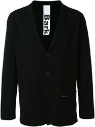 Bark Boxy Blazer Black