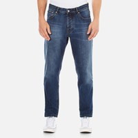 Ami Alexandre Mattiussi Men's Carrot Fit Jeans Blue