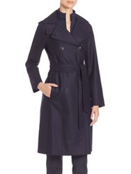 Akris Giacomo Storm System Trenchcoat Starling
