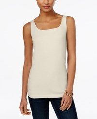 Styleandco. Style Co. Petite Shelf Bra Tank Top Only At Macy's Stonewall