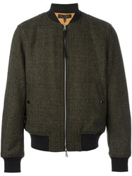 Rag And Bone 'Flana Militare' Bomber Green