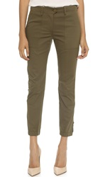 Veronica Beard Field Cargo Pants Army Green